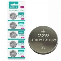 Батерии за дънна платка литиеви Omega CR 2032 Lithium 5 броя